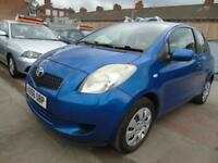 TOYOTA YARIS 1.0 T3 VVT-I 3d LOW MILES GOOD SERVICE DRIVES A1 (blue) 2006