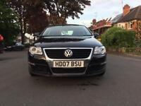 VW Passat tdi dsg, black, saloon, new MOT, well looked after