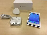 Blue & White Apple iPhone 6 16GB Factory Unlocked Mobile Phone + Warranty - GRADE A