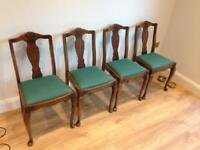 Ercol dining chair - set of 4