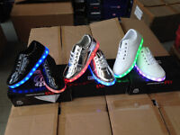 Wholesale Lady LED Trainers £5 per pair One off Job Lot Shoes