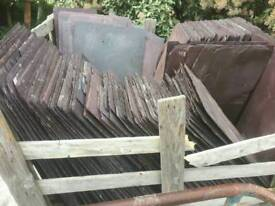 3,900 slates 24-12 Bangor Blue reclaimed