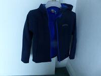 Boy's Mountain warehouse hooded lightweight jacket age 9-10 years.