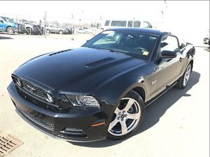 2014 Ford Mustang GT-Premium-LEATHER