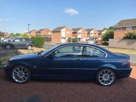 BMW 320 (2001) in Topaz Blue