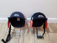 Slazenger two cricket helmet (2 for £20)