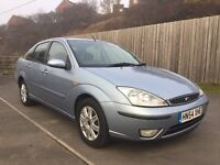 FORD FOCUS 1.8 GHIA SALOON not vauxhall vectra ford mondeo