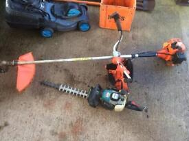 Strimmer and hedge cutter
