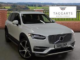 Volvo XC90 D5 INSCRIPTION AWD (white) 2016-03-30