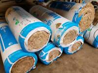 8 x bags of 200mm glass wool insulation