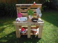 Mud Kitchen outdoor garden play toy games
