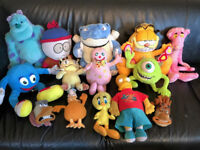 JOB-LOT of CHILDRENS 'CHARACTER' SOFT TOYS!