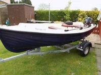 fishing boat new built by pisces boats