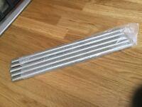 Hot rods for kitchen worktop