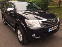 Toyota Hilux 3.0 D-4D Invincible Crewcab Pickup 4dr 1 Owner Camera SatNav CALL NOW 07735447270