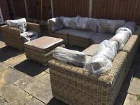 Quality Rattan Garden Furniture Set - Very Low Price