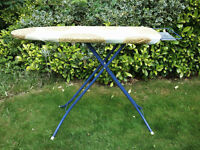 COLLAPSIBLE IRONING BOARD IN GOOD USED CONDITION