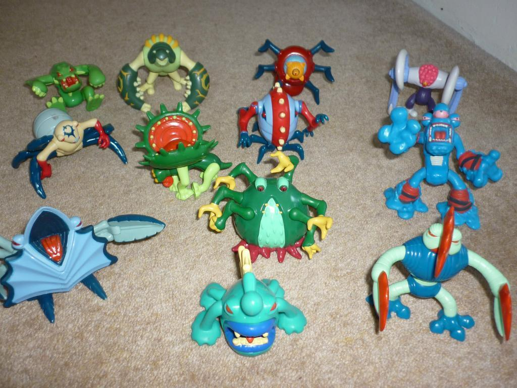 Childrens Swampsterz Action Figures 12 off (From ELC)