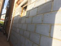 Bricklayer for all types of cavity walls, repairs, new builds, Blockwork and Brickwork
