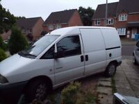 Citroen Dispatch van 1.9 Diesel spares or repairs