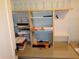 DESKS AND DISPLAY CABINETS