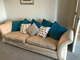 3 seater, 2 seater, armchair and footstool