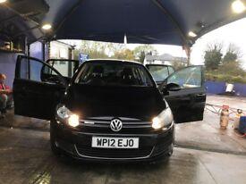 Volkswagen VW GOLF, BLACK, BLUEMOTION TDI, 54000 MILLAGE