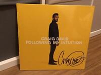 Craig David - Following My Intuition Signed Double Vinyl (Including CD)