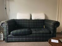 Tartan Sofa Bed