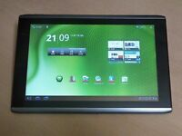Acer ICONIA ANDROID TABLET /FULLY BOXED UP GOOD AS NEW/ALL CLEAN / 10INC SCREEN /HDMI /SALE OR SWAPS