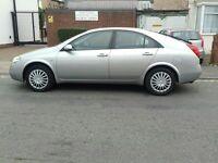 Nissan primera 5 door hatchback with full service hisyory.