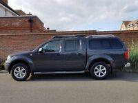 Nissan Navara DCI Aventura Double Cab (2007/57 Reg) + SAT NAV + REAR CANOPY + GENUINE 112K + SPEC +