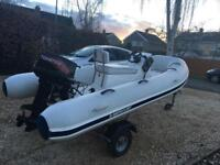 2014 Mercury 340 Rib Boat - £3250