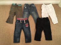 Boys trousers and jeans