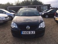 VOLKSWAGEN POLO 1.2 E HATCHBACK 3DR 2006*IDEAL FIRST CAR*CHEAP INSURANCE*HPI CLEAR*