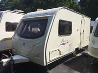 Avondale Dart Passione 470-2 2008 2 Berth Caravan + Awning + One Owner From New