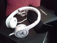 Genuine Emporio Armani Brand New Unused White Headphones