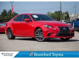 2016 Lexus IS 300 F-SPORT, AWD, 51727 Km's, Navigation