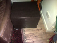 Super solid heavy wood bedside drawers