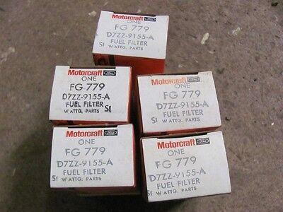 NOS Motorcraft Lot 5 Fuel Filters Bronco Truck Mustang 5.0 LX FG-779 D7ZZ-9155-A