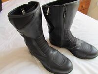 Oxford Cherokee Motorcycle Boots. Size 12
