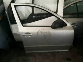 Skoda Octavia rear doors