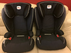 2 x Britax Romer Kidfix IsoFix Car Seat (sold as pair or indididually). Group 2/3, Ages 4-11 Approx