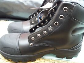 WORKING BOOTS STEEL TOE CAP SIZE 8 X 2