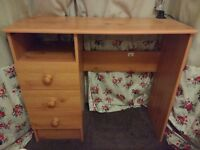 Compact/small desk with drawers for sewing/ older child