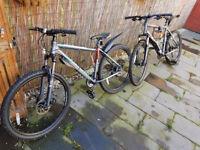 ***Matching Mens and Womans Carrera Bikes*** Like New! BARGAIN