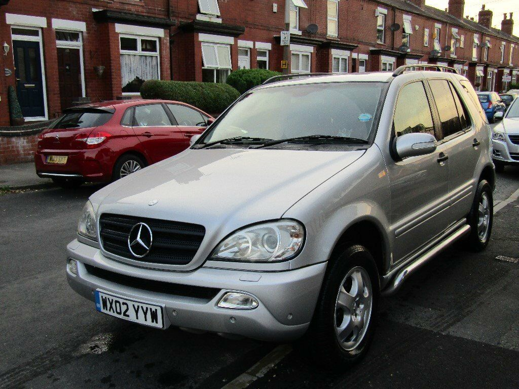 2002 mercedes ml 320 for sale in stockport manchester. Black Bedroom Furniture Sets. Home Design Ideas