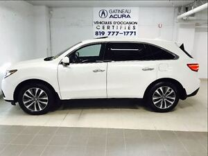 2015 Acura MDX TECH ACURA CANADA CERTIFIED PROGRAM 7 YEARS 130K