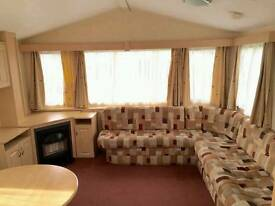 Bargain ONLY 1 FOR SALE - Static caravan West Scotland Ayrshire Sundrum Castle