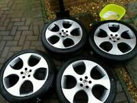 18 inch audi vw Monza gti alloy wheels